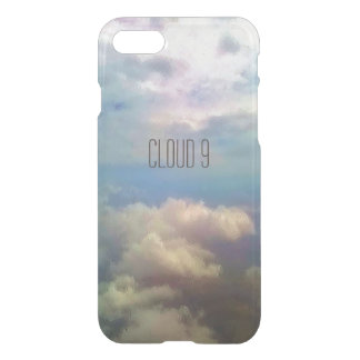 Custom iPhone 7 Clearly™ Deflector Case - Cloud 9