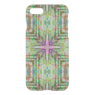 Custom iPhone 7 Clearly™ Deflector - Star Flower iPhone 7 Case