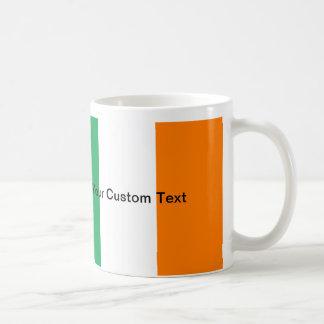 Custom Irish Flag Coffee Mug