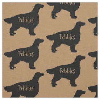 Custom Irish Setter Dog Fabric