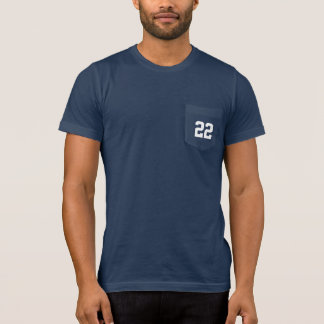 Custom Jersey Number Sports Dad T-Shirt