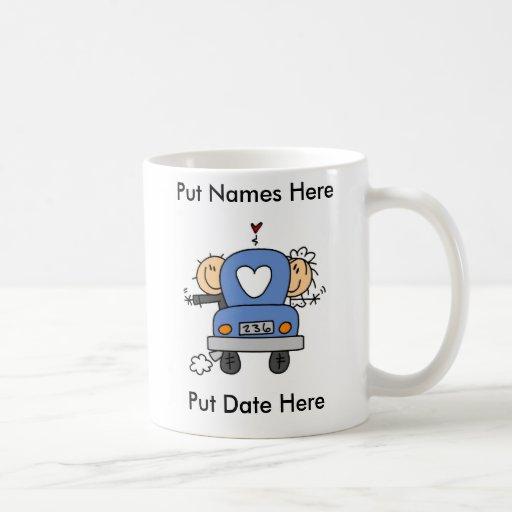 Custom Just Married Wedding Mug/Cup