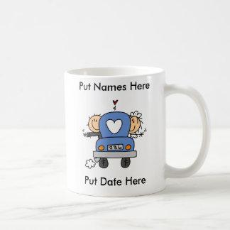 Custom Just Married Wedding Mug/Cup Coffee Mug