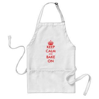 Custom Keep Calm apron | Customizable template