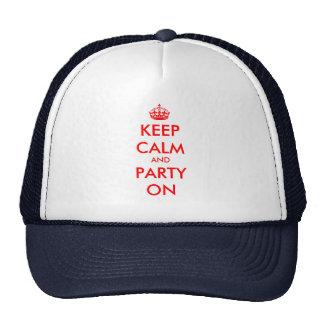 Custom Keep Calm hat   customizable template