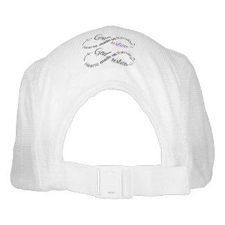 CUSTOM KNIT PERFORMANCE HAT, WHITE HAT