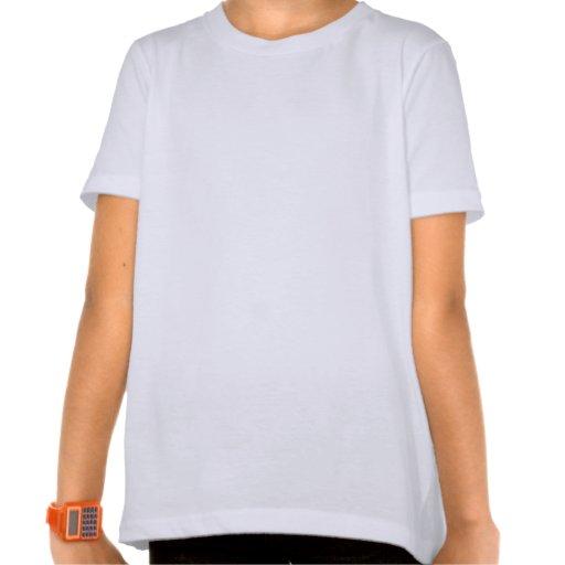Custom Large Girls Basic American Apparel T-Shirt