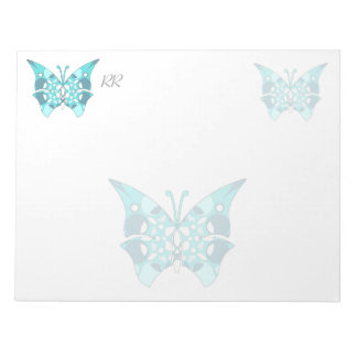 Custom Large Notepad With Pattern Background