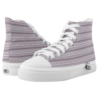 Custom Lavender Summer High Top Shoes Printed Shoes