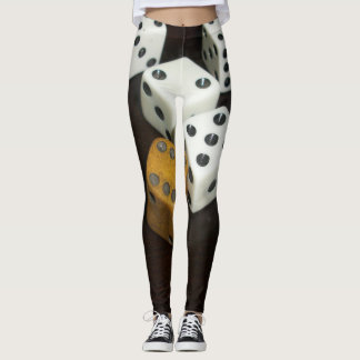 custom leggings w/dice