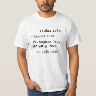 Custom Library Due Date shirt