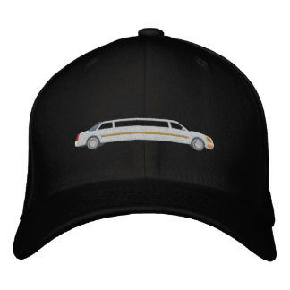 Custom Limousine Driver Large Embroidery Embroidered Hat