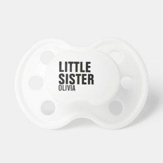 Custom Little Sister Baby Pacifier