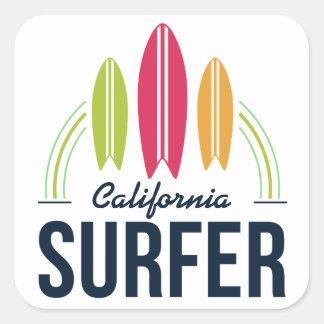 Custom Location Surfer stickers