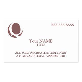 Custom Logo Business Cards
