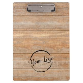 custom logo wooden boards clipboard