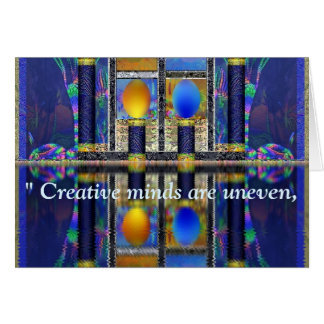 Custom Lovecraft Quote Fantasy Art Greeting Card