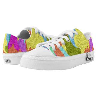 Custom Low Top ZIPZ shoes Printed Shoes