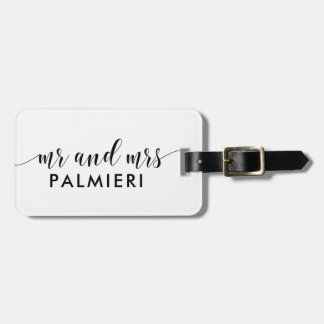 Custom Luggage Tag - MR and MRS