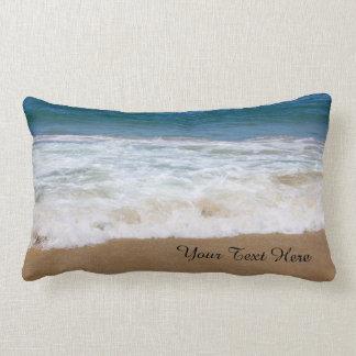 Custom Lumbar Pillow (Add Your Own/Text Photo) Throw Cushion