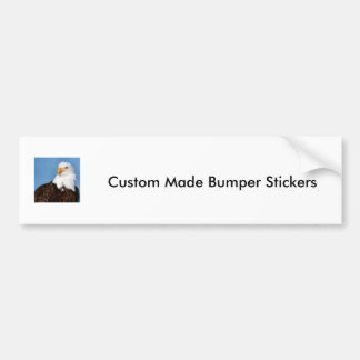 Custom Made Bumper Stickers