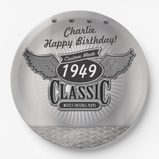 Custom Made Classic Party Plate