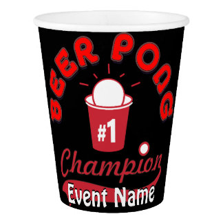 Custom Made for Your Beer Pong Event!