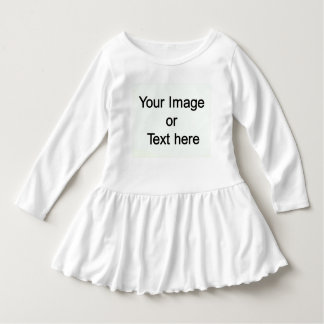 Custom Made with Your Own Image or Text Dress
