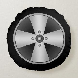 Custom Mag Wheel Round Cushion
