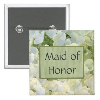 Custom Maid of Honor Button