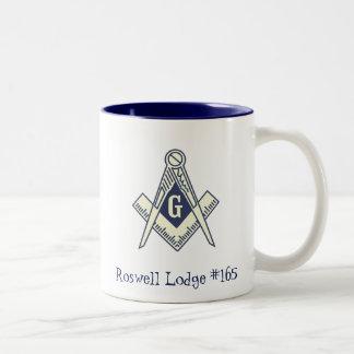 Custom Masonic Blue Lodge Coffee Mug