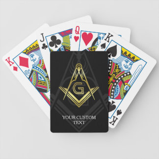 Custom Masonic Poker Cards | Freemason Gifts