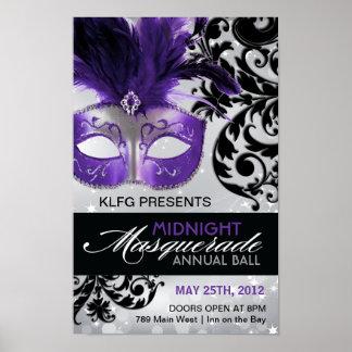 Custom - Masquerade Ball Poster