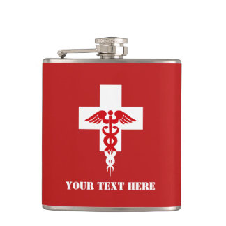 Custom Medical Professional flask