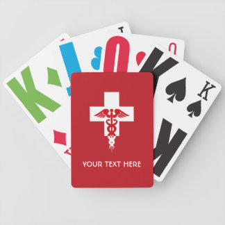 Custom Medical Professional playing cards