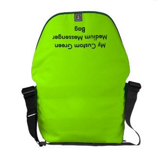Custom Medium Messenger Bag - Green
