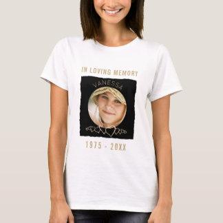 Custom Memorial Add Photo | In Loving Memory T-Shirt