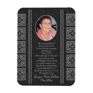 Custom Memorial Keepsakes Magnet