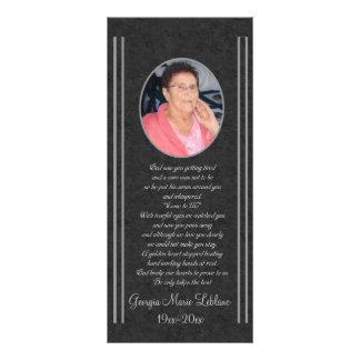 Custom Memorial Keepsakes Rack Card