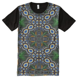 Custom Men's American Apparel All-Over Printed Pan All-Over Print T-Shirt