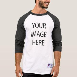 Custom Men's Champion 3/4 Sleeve Raglan T-Shirt