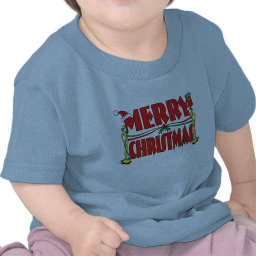 Custom Merry Christmas Kids Baby Shirt Jacket Bibs