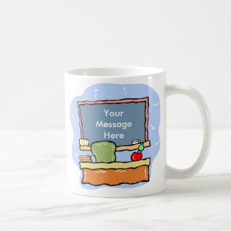 Custom Message Teacher Mug