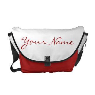 CUSTOM MESSENGER BAG - YOUR NAME