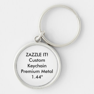 Custom Metal Keychain Key Ring Blank Template