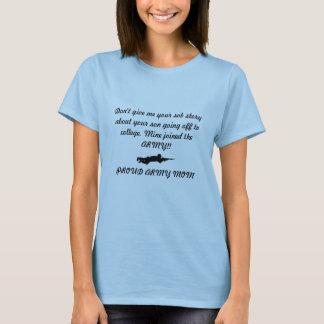 Custom Military Mom Shirt