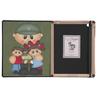 Custom Military Soldier Christmas Cases For iPad