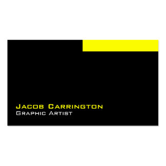 Custom Modern 449y Double-Sided Standard Business Cards (Pack Of 100)
