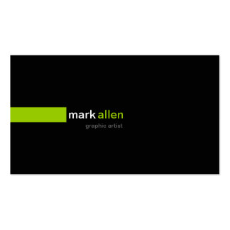 Custom Modern 519b Double-Sided Standard Business Cards (Pack Of 100)