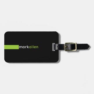 Custom Modern 519b Tag For Luggage